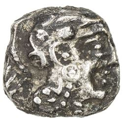 SABAEAN: Anonymous, 4th-3rd century BC, AR 1/8 unit (0.64g). VF