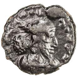 SASANIAN KINGDOM: Vahram II (Varahran), 276-293, AE pashiz (0.90g). VF