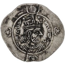 SASANIAN KINGDOM: Kavad II, 628, AR drachm (4.03g), YZ (Yazd), year 2. VF-EF
