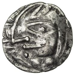 NAKHSHAB: Anonymous, ca. 4th century, AR hemidrachm (2.02g). VF-EF