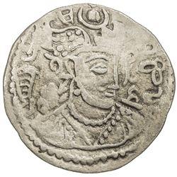 HEPHTHALITE: Tobazoni, 5th century, AR drachm (2.85g). F-VF