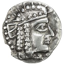 YUEH CHI: Anonymous, after 130 BC, AR tetradrachm (8.82g). EF-AU