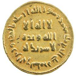 UMAYYAD: 'Abd al-Malik, 685-705, AV dinar (4.14g), NM (Dimashq), AH84. VF-EF