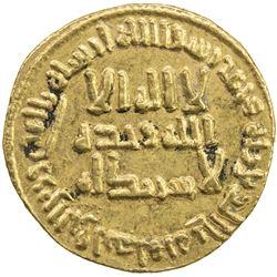 UMAYYAD: al-Walid I, 705-715, AV dinar (4.26g), NM (Dimashq), AH93. EF-AU
