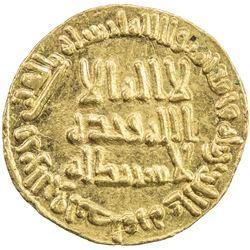 UMAYYAD: al-Walid I, 705-715, AV dinar (4.26g), NM (Dimashq), AH95. EF-AU