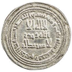 UMAYYAD: Yazid II, 720-724, AR dirham (2.93g), Ifriqiya, AH103. VF-EF