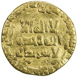 ABBASID: al-Mansur, 754-775, AV dinar (3.97g), NM, AH140. VG