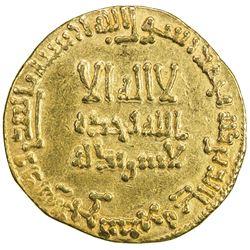 ABBASID: al-Mansur, 754-775, AV dinar (4.07g), NM, AH148. EF