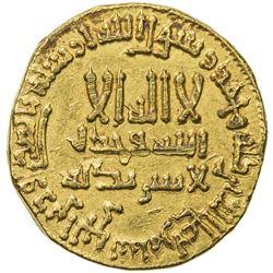 al-Mahdi (775-785/158-169 AH), AU dinar. EF