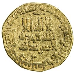 ABBASID: al-Rashid, 786-809, AV dinar (4.01g), NM (Egypt), AH186. F