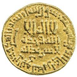 ABBASID: al-Rashid, 786-809, AV dinar (4.26g), NM (Egypt), AH189. EF