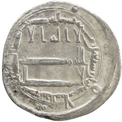ABBASID: al-Rashid, 786-809, AR dirham (2.91g), Madinat al-Salam, AH178. VF
