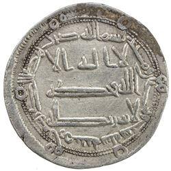 ABBASID: al-Rashid, 786-809, AR dirham (2.90g), Arminiya, AH186. VF-EF
