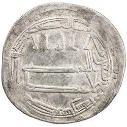ABBASID: al-Amin, 809-813, AR dirham (2.77g), Tabaristan, AH194. VF