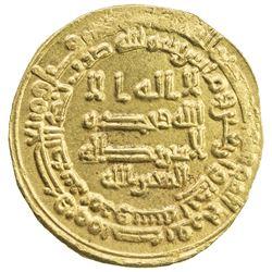 ABBASID: al-Mutawakkil, 847-861, AV dinar (4.24g), Marw, AH241. EF-AU