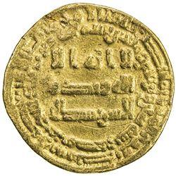 ABBASID: al-Musta'in, 862-866, AV dinar (4.16g), Misr, AH248. F