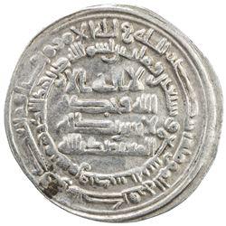 ABBASID: al-Mu'tamid, 870-892, AR dirham (2.89g), Samarqand, AH279. VF-EF
