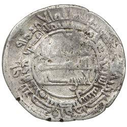 ABBASID: al-Mu'tadid, 892-902, AR dirham (3.98g), Ardabil, AH282. F-VF