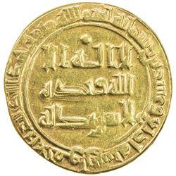 ABBASID: al-Radi, 934-940, AV dinar (3.68g), al-Ahwaz, AH324. VF-EF
