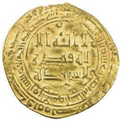 ABBASID: al-Radi, 934-940, AV dinar (2.56g), Tustar min al-Ahwaz, AH324. VF