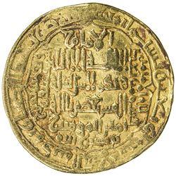 ABBASID: al-Musta'sim, 1242-1258, AV dinar (12.20g), Madinat al-Salam, AH640. VF