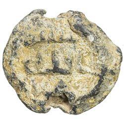 ABBASID: lead seal (7.27g), ND. F