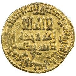 AGHLABID: Ziyadat Allah I, 816-837, AV dinar (4.21g), NM, AH204. VF