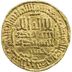 AGHLABID: Muhammad II, 864-874, AV dinar (4.21g), NM, AH260. VF