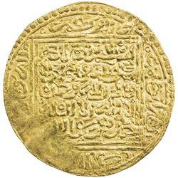 ZIYANID: Abu Hammu Musa II, 1359-1389, AV dinar (4.62g), Tilimsan (Tlemcen), ND. VF