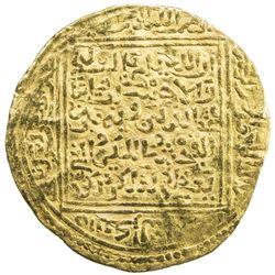 ZIYANID: Abu Ziyan Muhammad II, 1394-1399, AV dinar (4.42g), Tilimsan (Tlemcen), ND. VF
