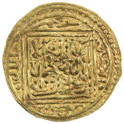 ZIYANID: Abu 'Abd Allah Muhammad V, 1462-1468, AV 1/4 dinar (1.07g), Tilimsan, ND. VF-EF