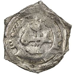 IKHSHIDID: Muhammad, 935-946, AR donative 1/2 dirham (1.69g), NM, ND. VF
