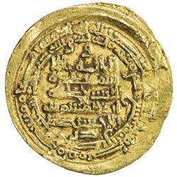 IKHSHIDID: Abu'l-Qasim, 946-961, AV dinar (4.18g), Filastin, AH337. VF