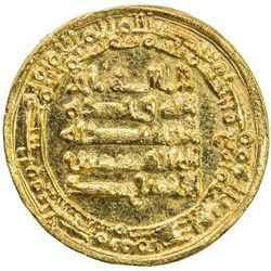 IKHSHIDID: Abu'l-Qasim, 946-961, AV dinar (4.42g), Misr, AH344. UNC