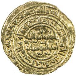 FATIMID: al-Hakim, 996-1021, AV dinar (4.10g), al-Mahdiya, DM. VF