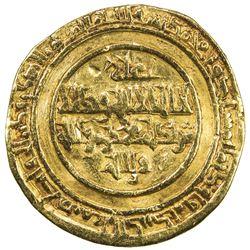 FATIMID: al-Hakim, 996-1021, AV dinar (4.11g), Misr, AH404. VF