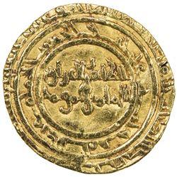 FATIMID: al-Zahir, 1021-1036, AV dinar (3.97g), al-Mansuriya, AH423. VF