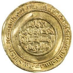 FATIMID: al-Mustansir, 1036-1094, AV dinar (4.18g), Misr, AH428. EF