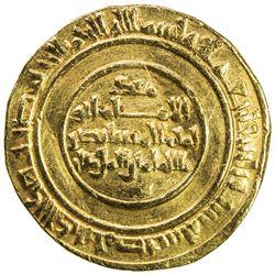 FATIMID: al-Mustansir, 1036-1094, AV dinar (4.27g), Misr, AH436. VF-EF