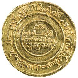 FATIMID: al-Mustansir, 1036-1094, AV dinar (4.26g), Misr, AH438. EF