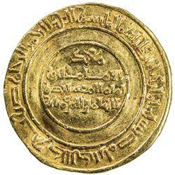 FATIMID: al-Mustansir, 1036-1094, AV dinar (4.12g), Misr, AH438. VF-EF