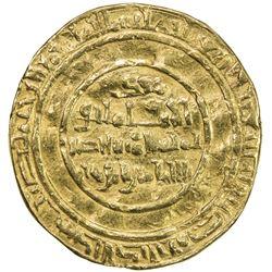 FATIMID: al-Mustansir, 1036-1094, AV dinar (4.06g), Misr, AH440. F-VF