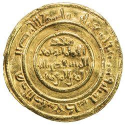 FATIMID: al-Mustansir, 1036-1094, AV dinar (4.11g), 'Akka (Acre), AH463. EF