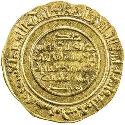 FATIMID: al-Mustansir, 1036-1094, AV dinar (4.32g), al-Iskandariya, AH485. UNC