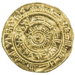 FATIMID: al-Mustansir, 1036-1094, AV dinar (4.18g), Misr, AH443. EF
