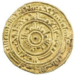 FATIMID: al-Mustansir, 1036-1094, AV dinar (4.21g), Misr, AH459. VF-EF