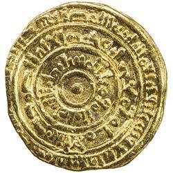 FATIMID: al-Mustansir, 1036-1094, AV dinar (4.07g), al-Iskandariya, AH464. VF