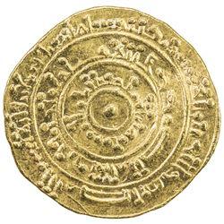 FATIMID: al-Mustansir, 1036-1094, AV dinar (4.15g), al-Iskandariya, AH472. EF