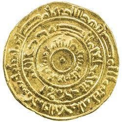 FATIMID: al-Mustansir, 1036-1094, AV dinar (4.41g), Misr, AH473. VF-EF