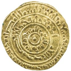 FATIMID: al-Mustansir, 1036-1094, AV dinar (4.05g), al-Iskandariya, AH473. VF